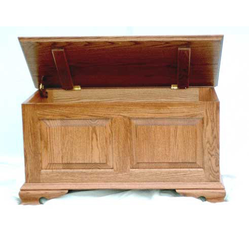 Small Classic 2 Panel Oak Chest Kit
