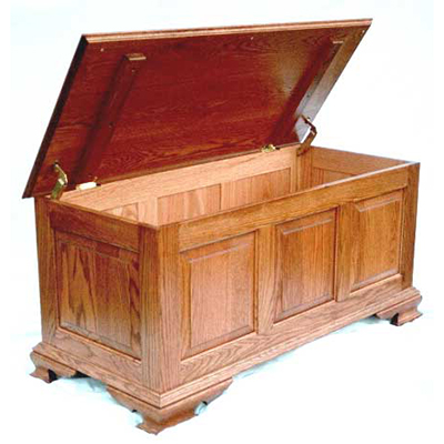 Large Classic 3 Panel Aromatic Cedar Chest Kit