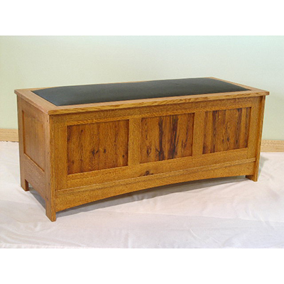 Quarter-sawn Red Oak Chest